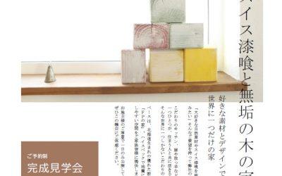 4/28 スイス漆喰と無垢の木の家